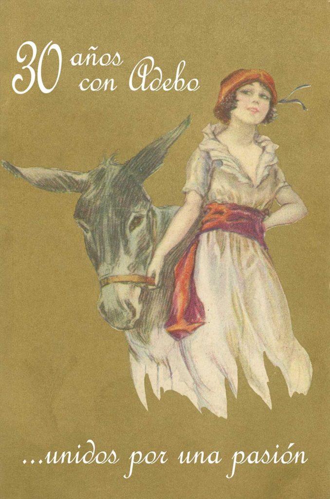 cartel 30 aniversario ADEBO